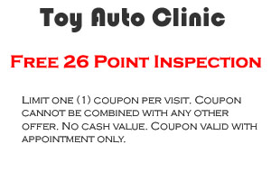 Toyota 26 Point Coupon